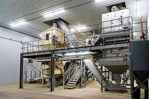 BD PelletTower pellet plant